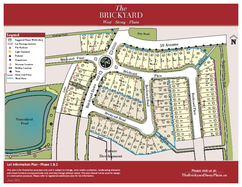 The Brickyard Lot Info Phase 1 and 2