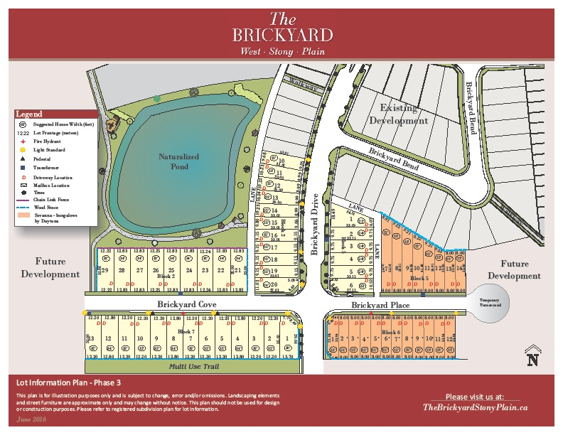 The Brickyard Lot Info Phase 3