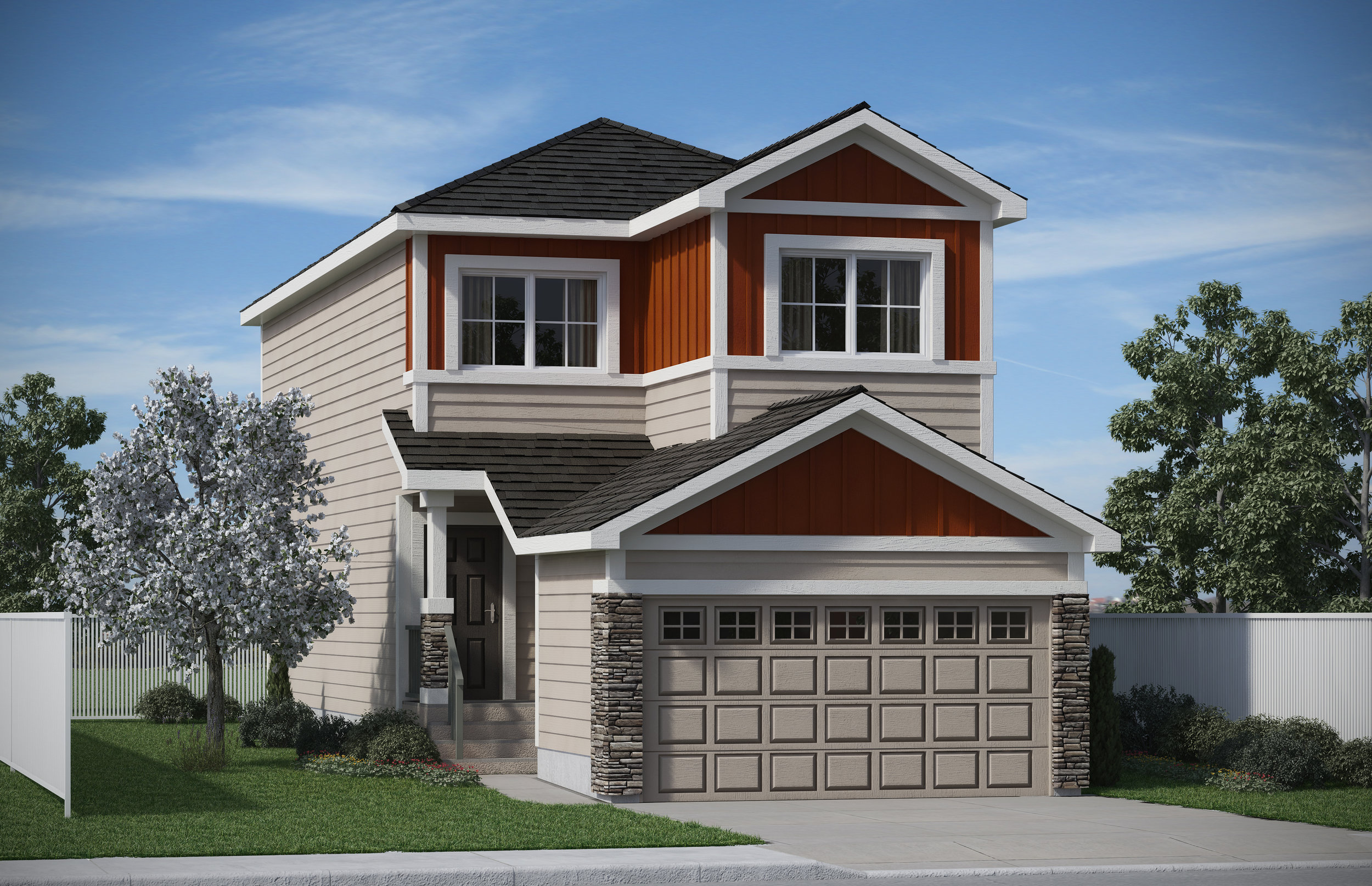 The Cambridge  -  7411 Creighton Place SW   Price: $424,500  SHOWHOME  Call Ann at 780-916-0829   Click for details