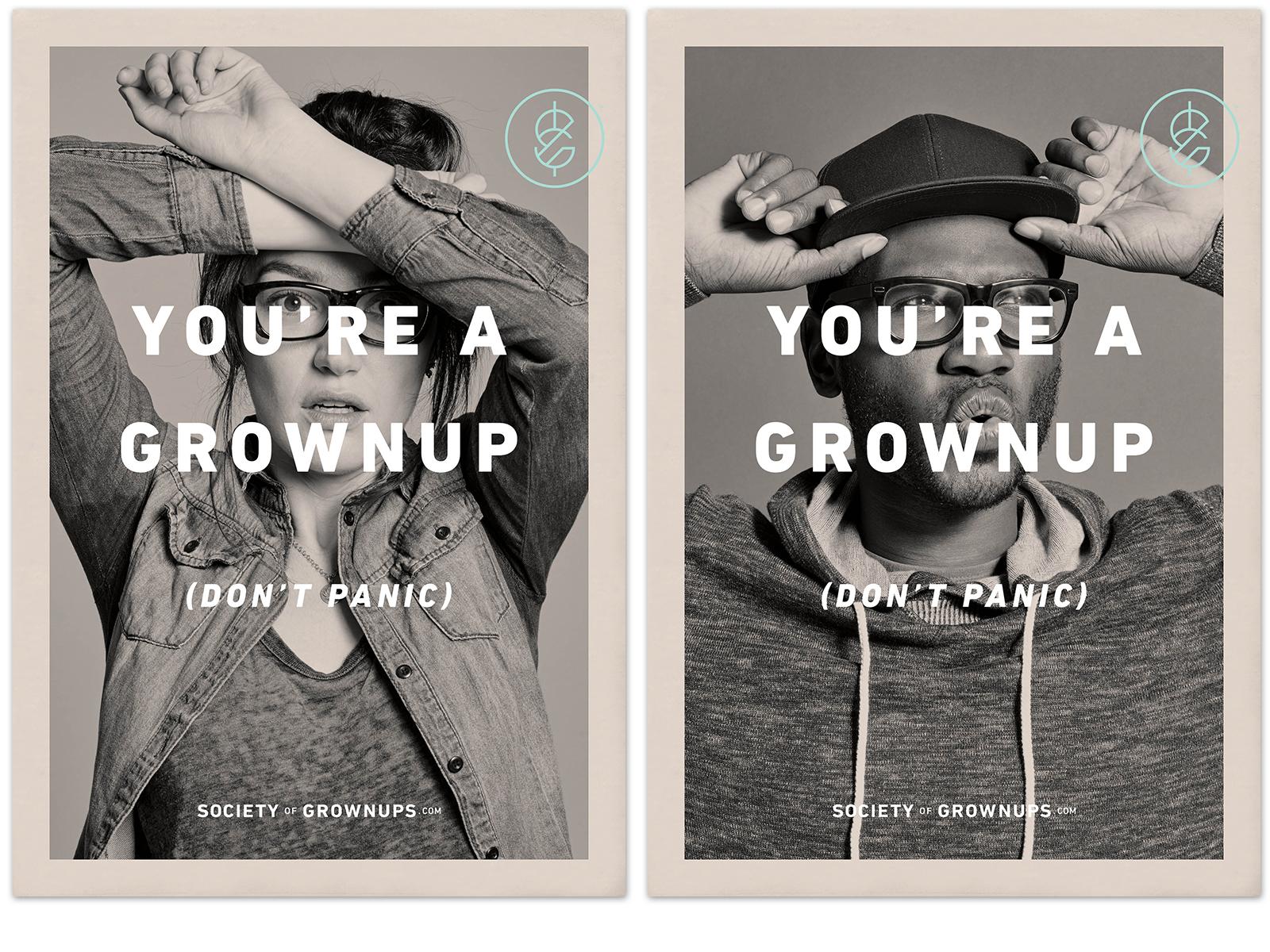 Society of Grownups Advertising