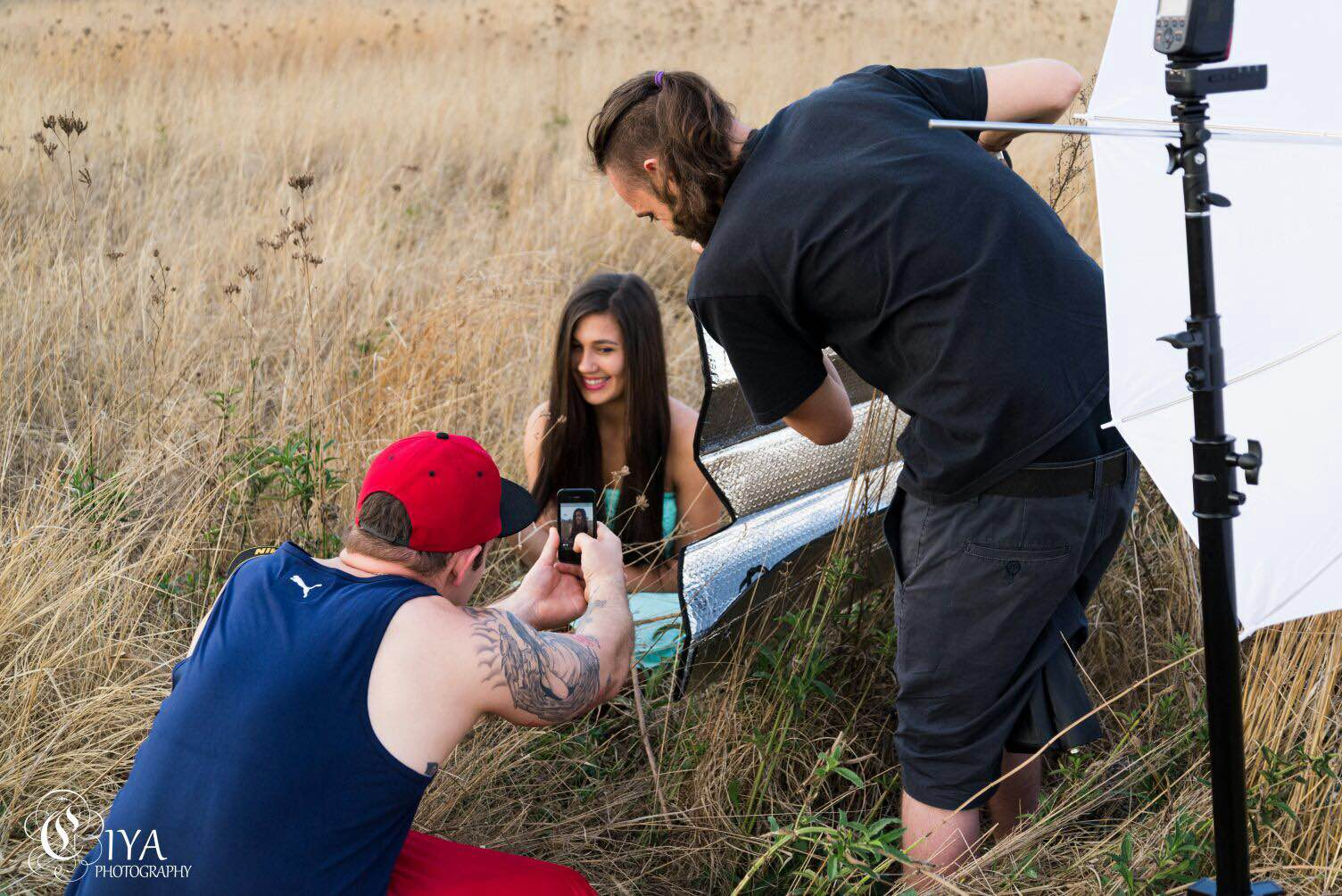 Bts of my the above shot, thanks to Tshepo for this. have a look at her work here  https://www.facebook.com/ciyaphotography