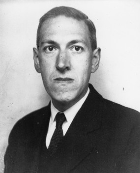 Lovecraft, happy as a clam.