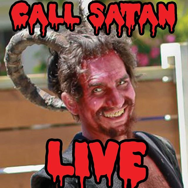New episode up of Call Satan Live! It's the FULL MOON HARVEST! Find it on every podcast app or www.callsatanlive.com