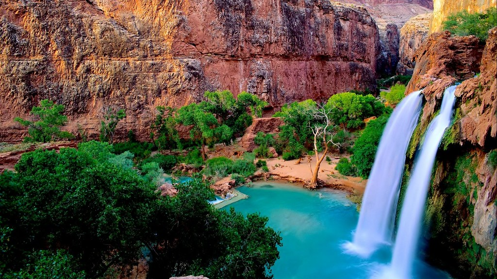Do you think that waterfall is worried about healthcare? Definitely not.