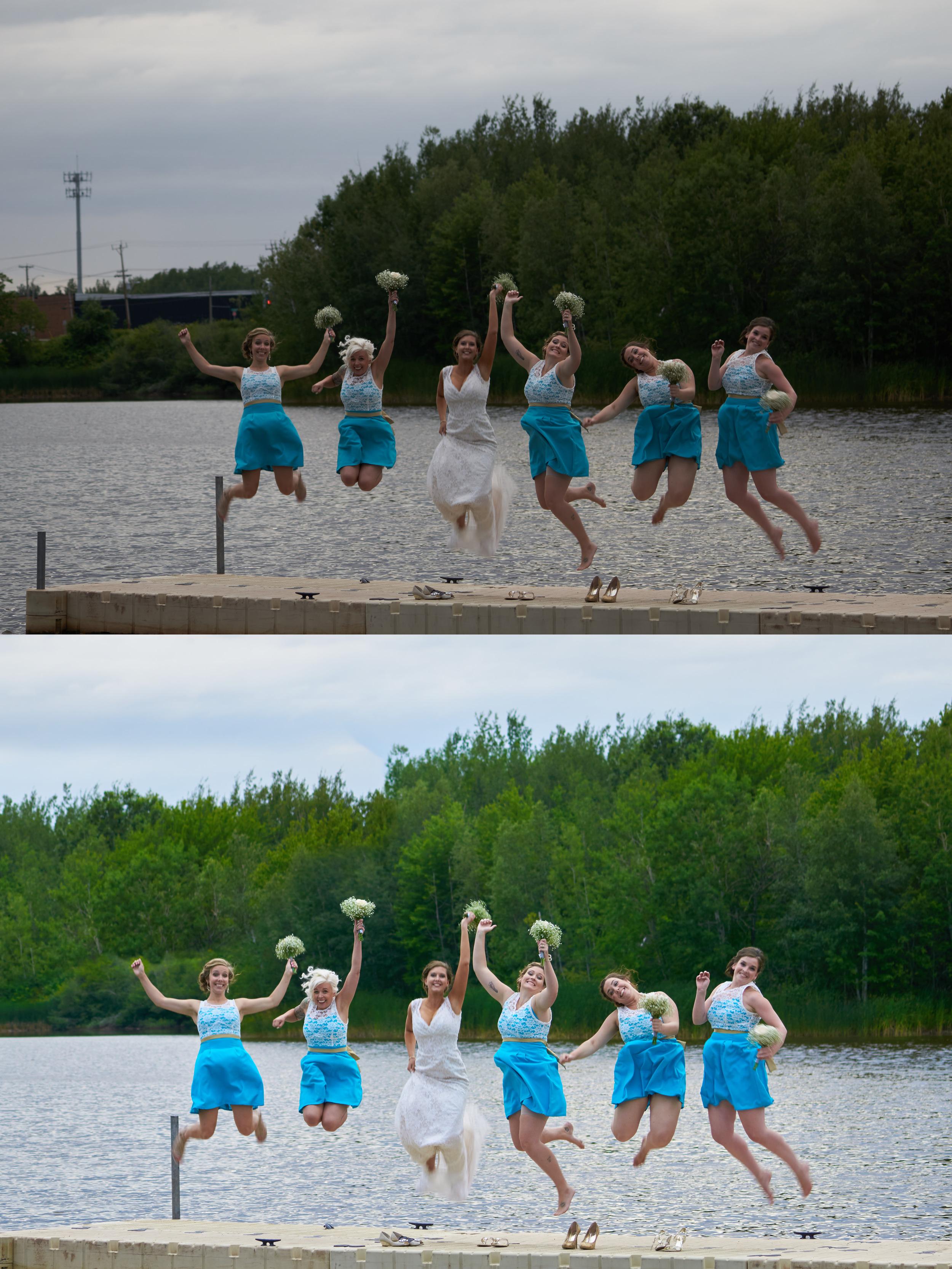 Jones Lake Wedding
