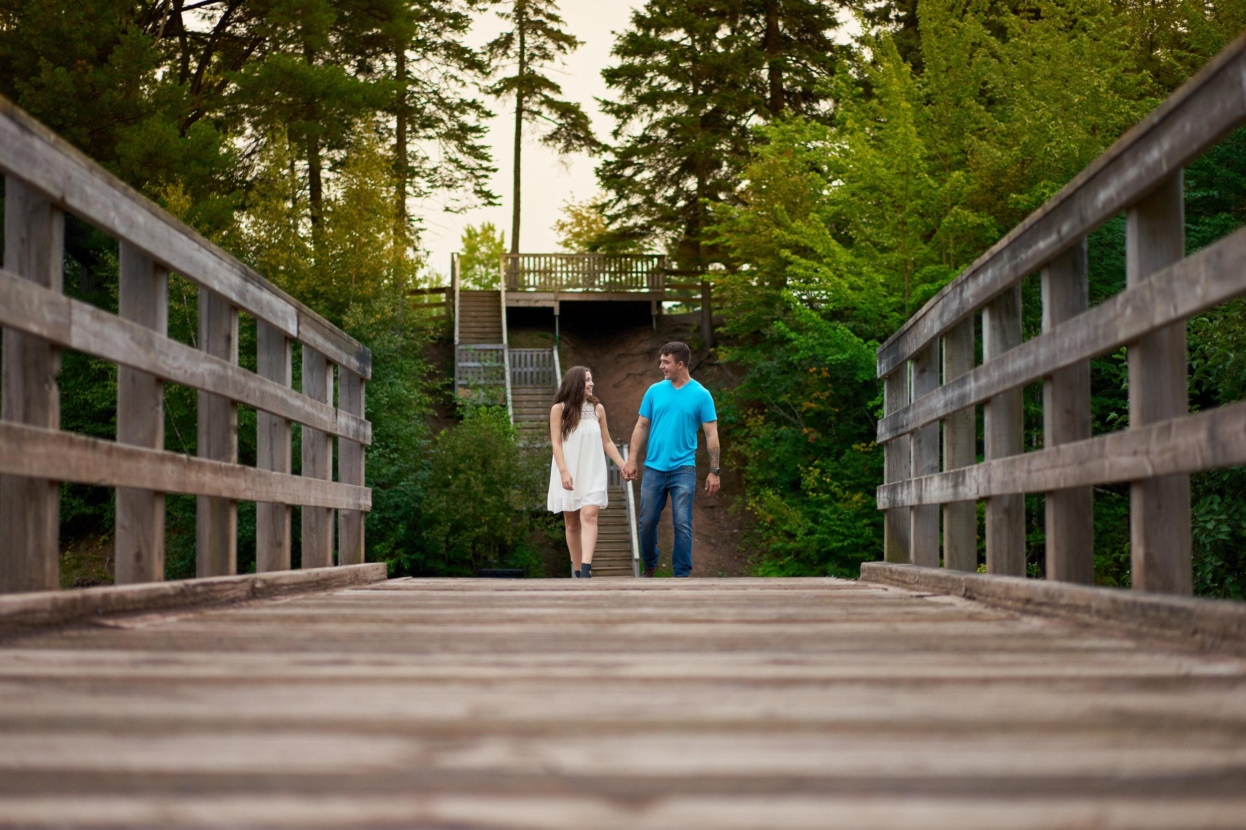 Melissa & Julien's engagement shoot