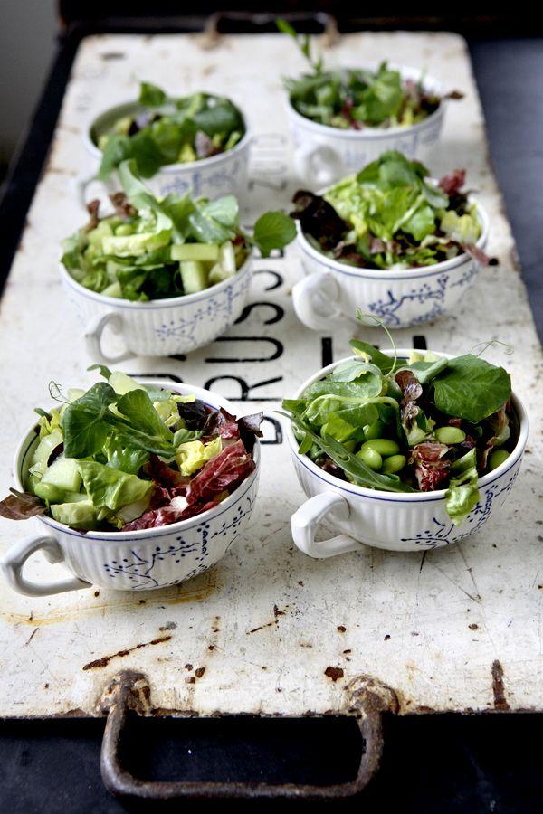 Tea Cups, Salad (tinabrokhansen.blogspot.dk)