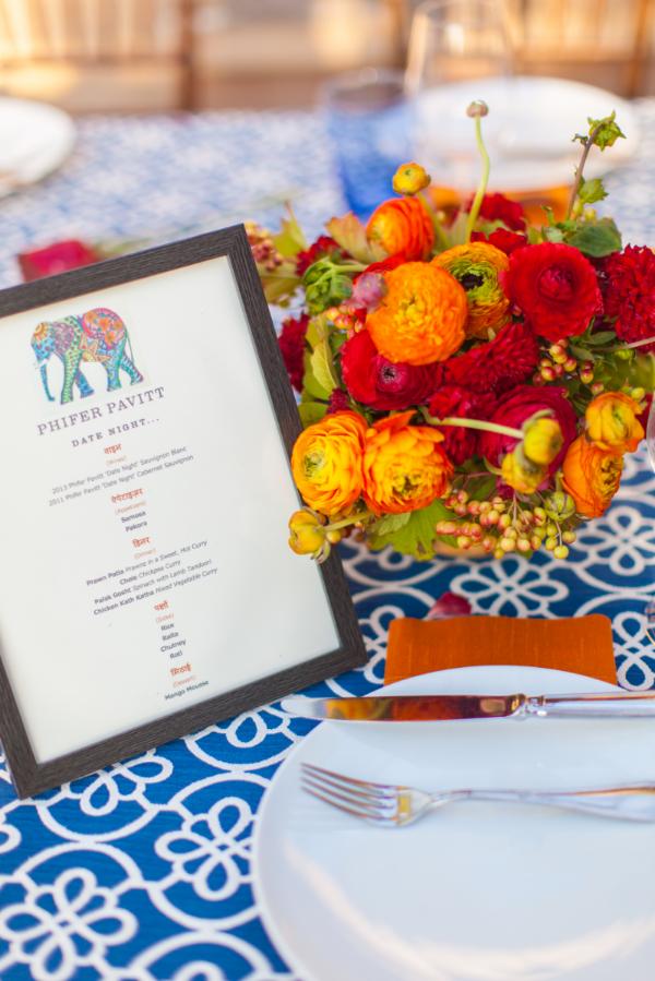 Indian Design Special Event // ROQUE Napa Events