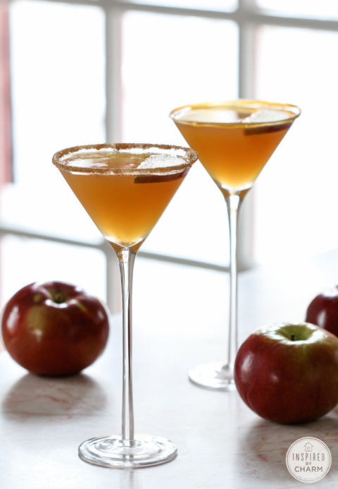Caramel Apple Martini by Inspired by This