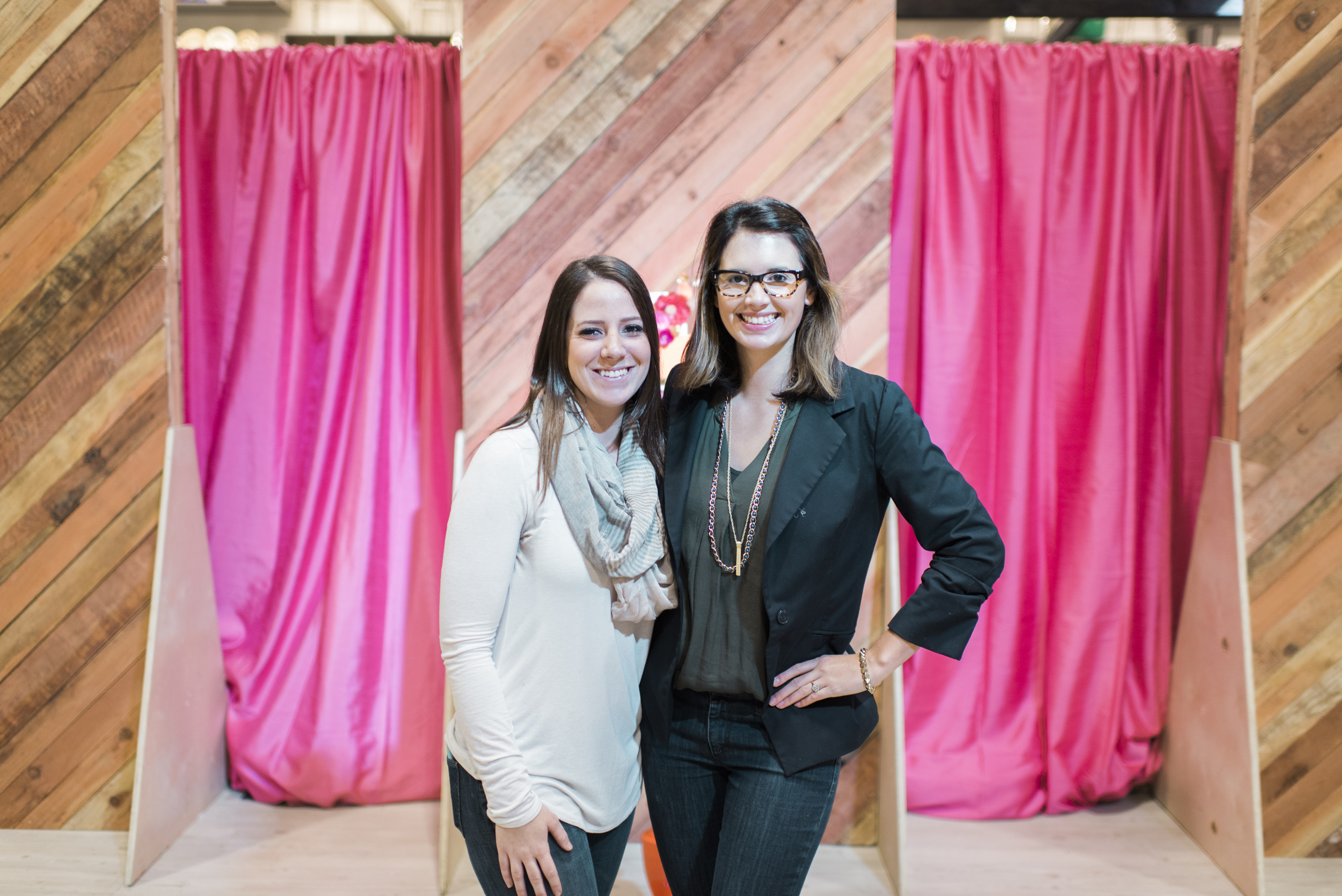 Haley Ahnfeldt + Raquel Bickford of ROQUE Events