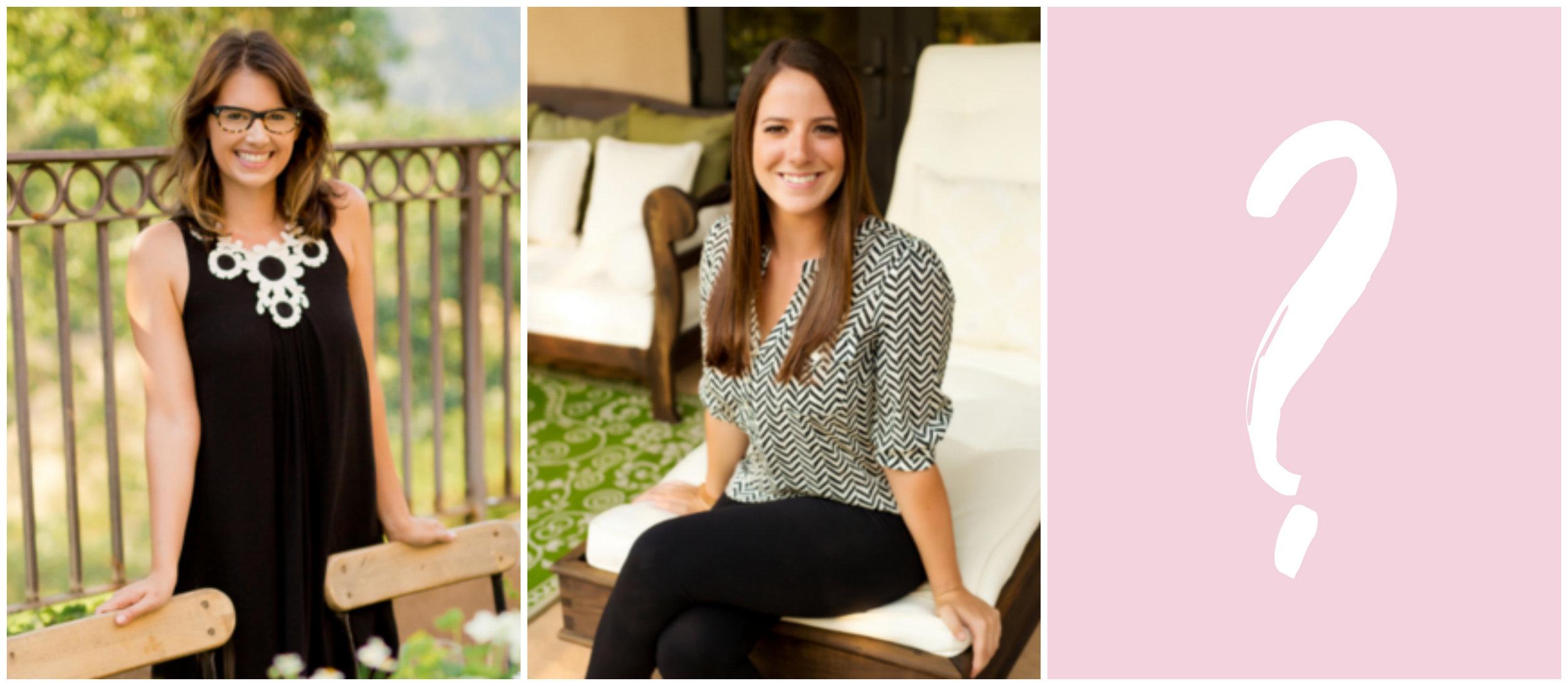 Raquel Bickford (Founder + Creative Director), Haley Ahnfeldt (Creative Coordinator), YOU!