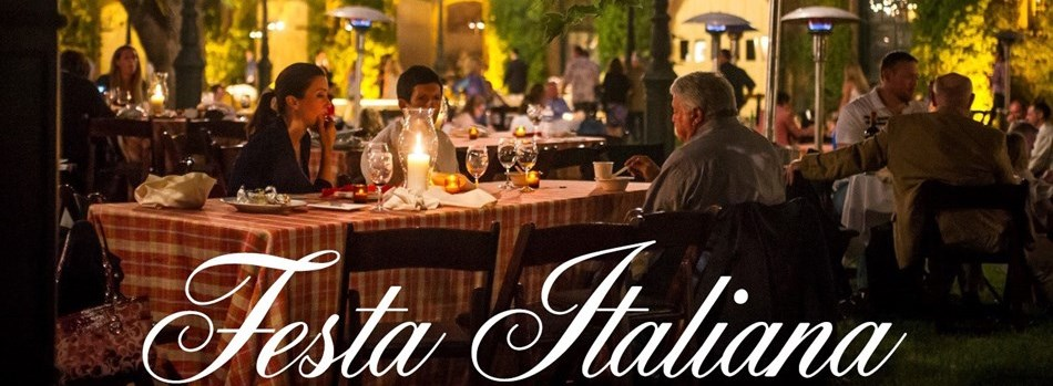 On Saturday, August 12, Inglenook's annual Harvest Partywill echo the design of an Italian street festival, with lights and colorful banners decorating the winery's chateau courtyard and food booths lining the pathways. -