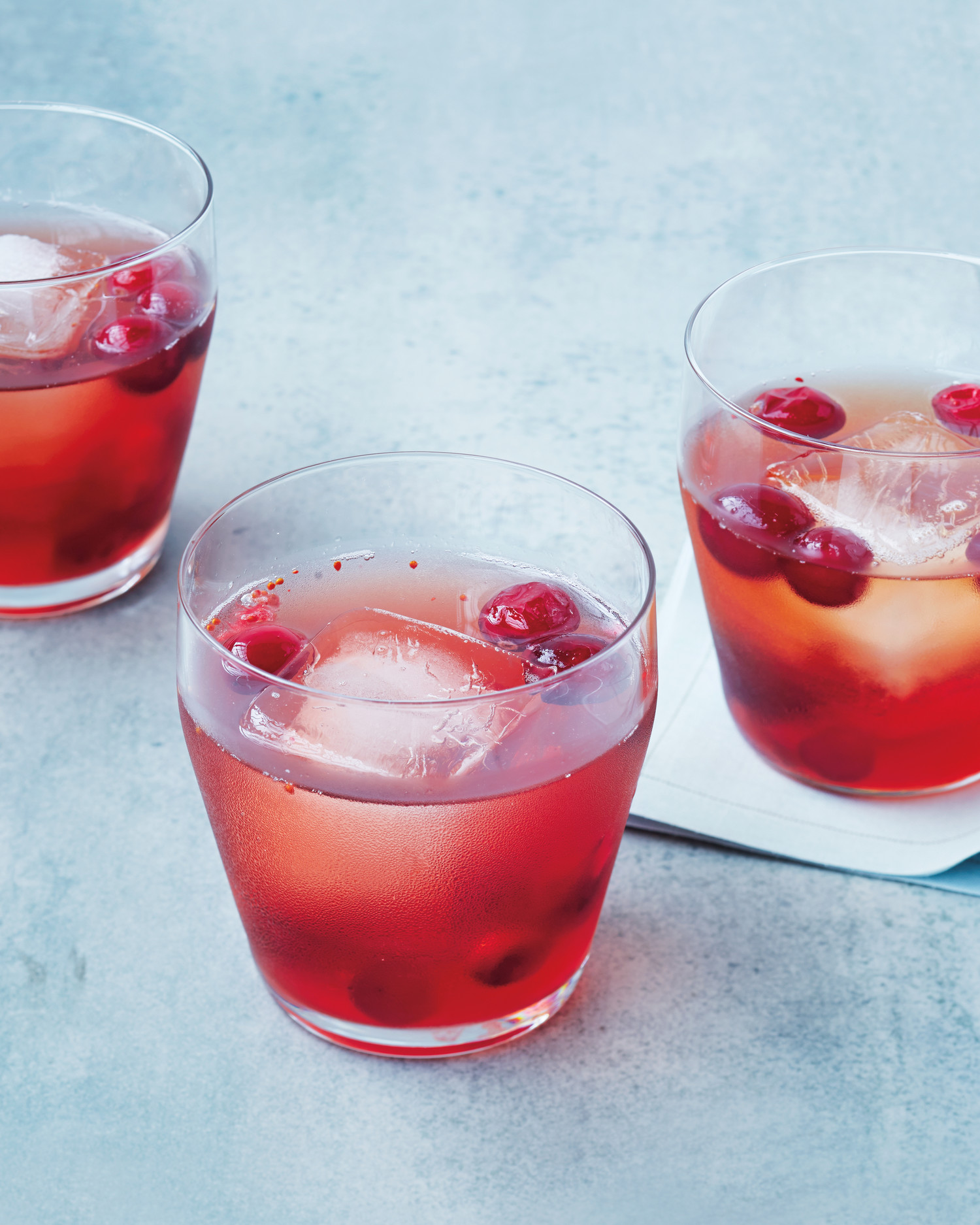 Bourbon Cranberry Shrub - Forget about Manhattans and Cosmopolitans, even older vintage cocktails are what's in with cocktail culture aficionados.