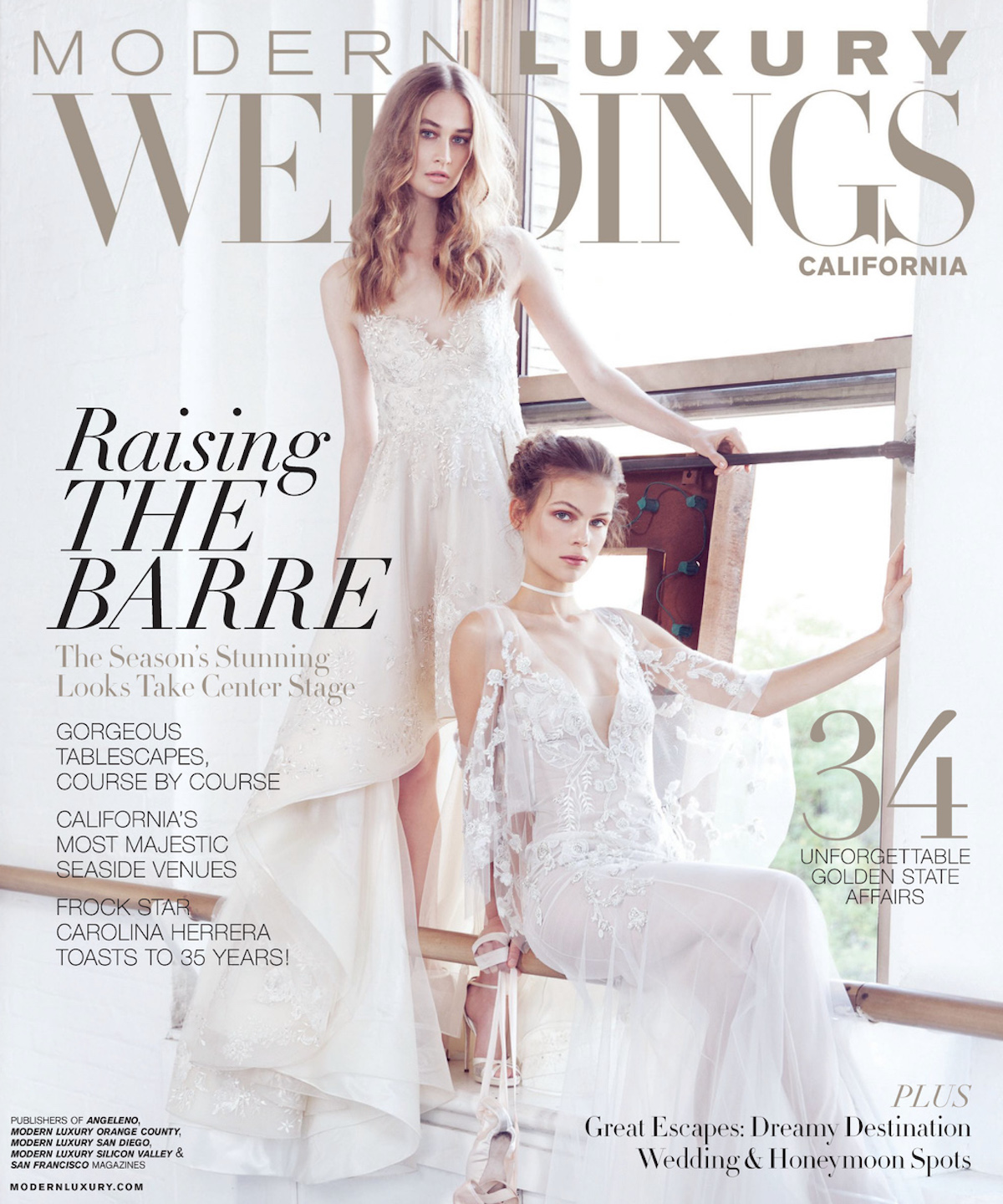Modern Luxury Weddings Fall 2016