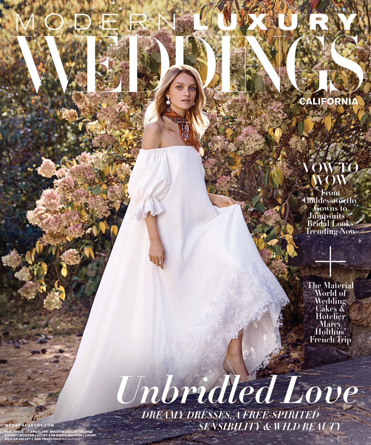 Modern Luxury Weddings Spring/Summer 2018