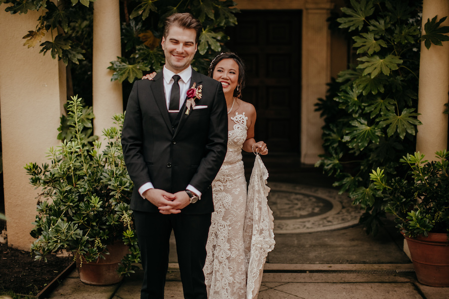 Jennifer and Jared's Chic Copper-Toned Wedding at Chateau St. Jean2.jpg