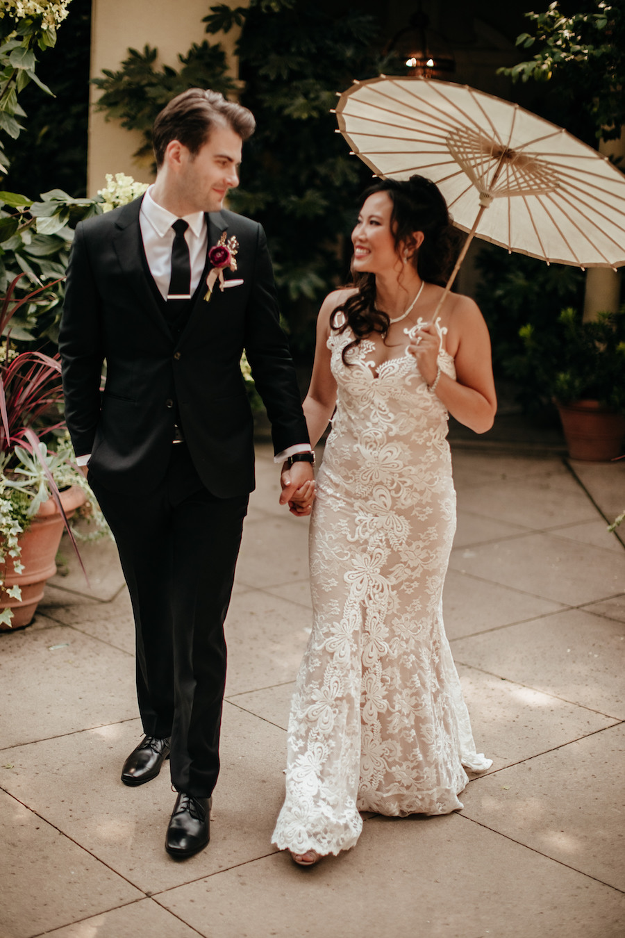 Jennifer and Jared's Chic Copper-Toned Wedding at Chateau St. Jean4.jpg