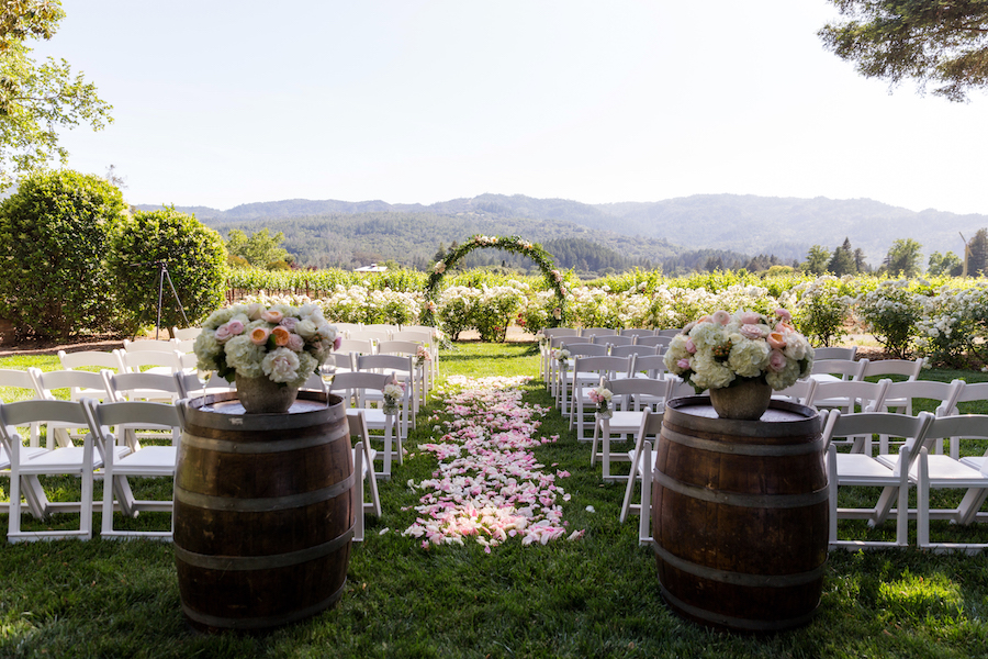 Chic and Organic Outdoor Wedding at Harvest Inn54.jpg