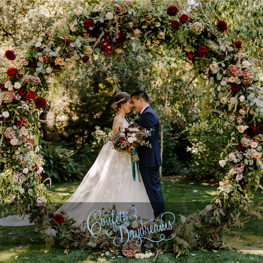 Enchanted Garden Wedding Featured on Confetti Daydreams.jpg