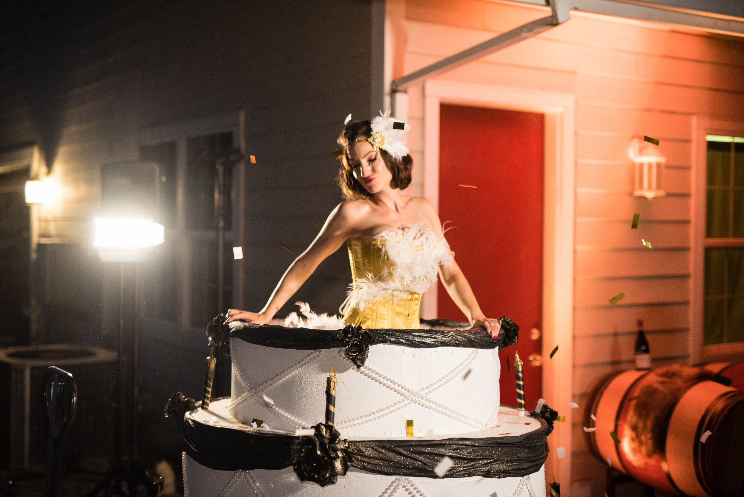 ROARING 20'S BIRTHDAY PARTY -