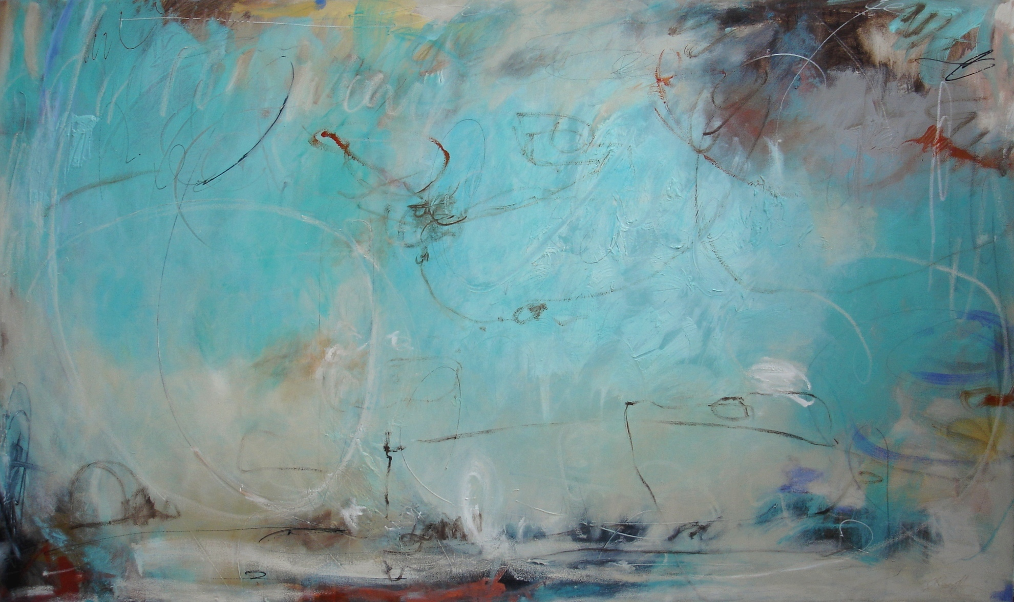 Connections, 92 x 153cm