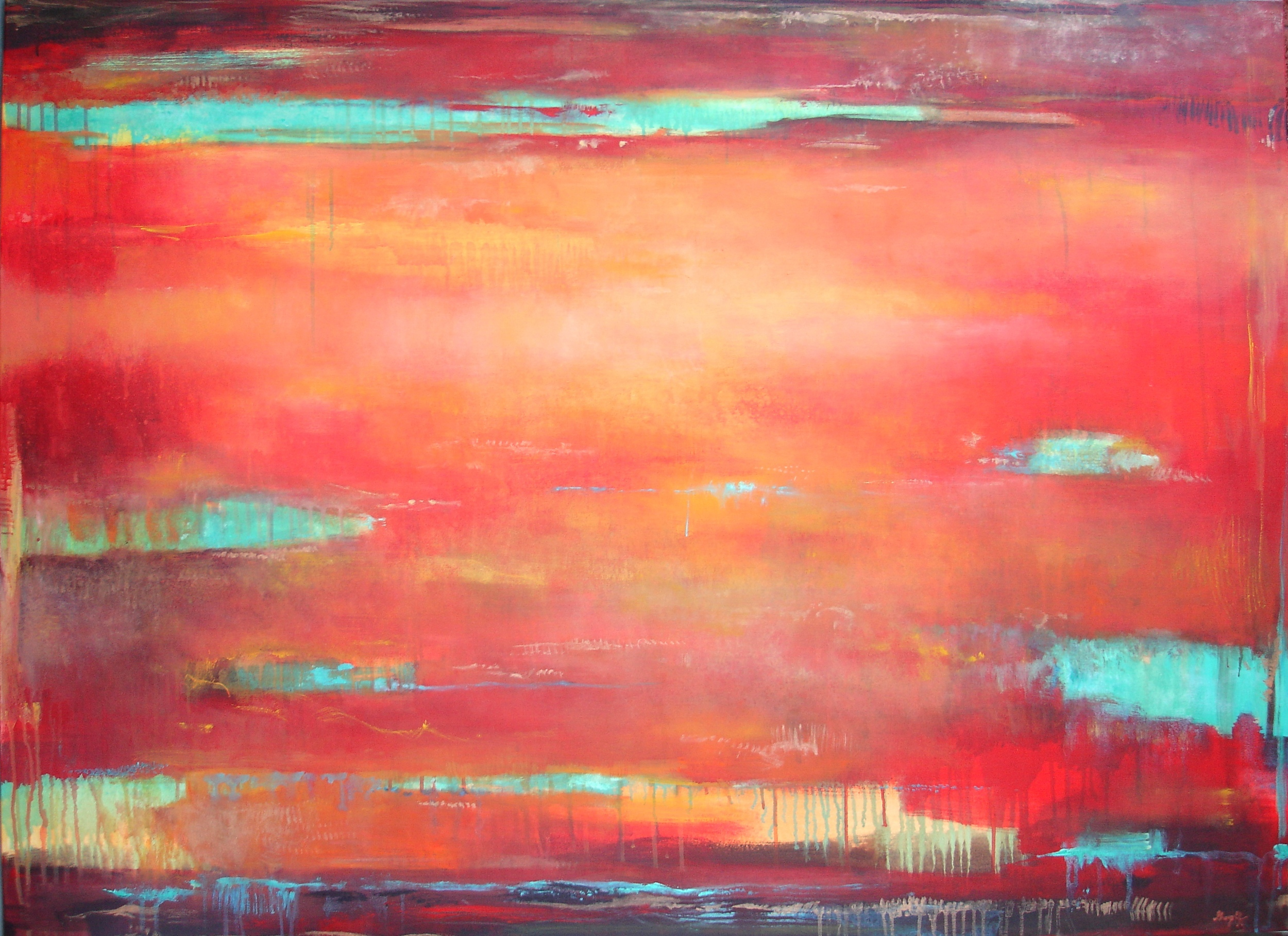 Hope on the Horizon 102 x 160cm