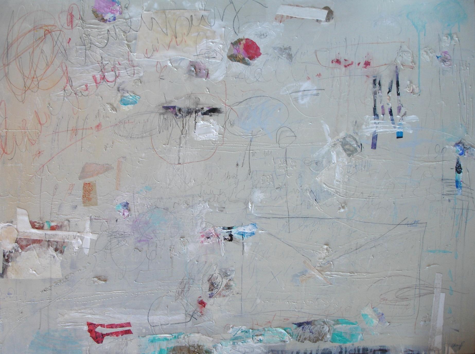 Bits & Pieces 122 x 92cm