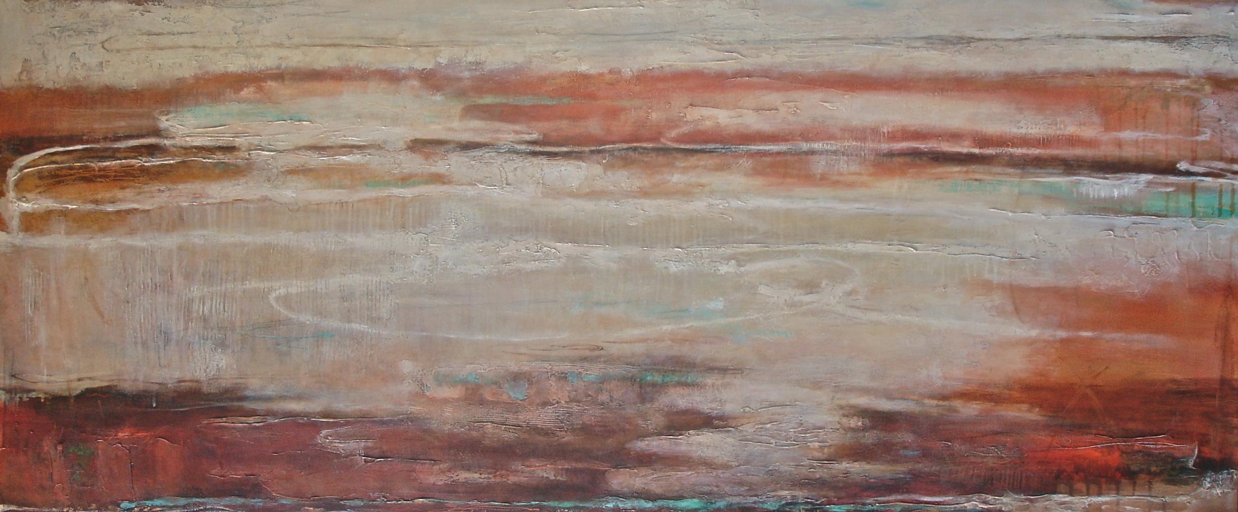 Reflections, 198 x 84 cm