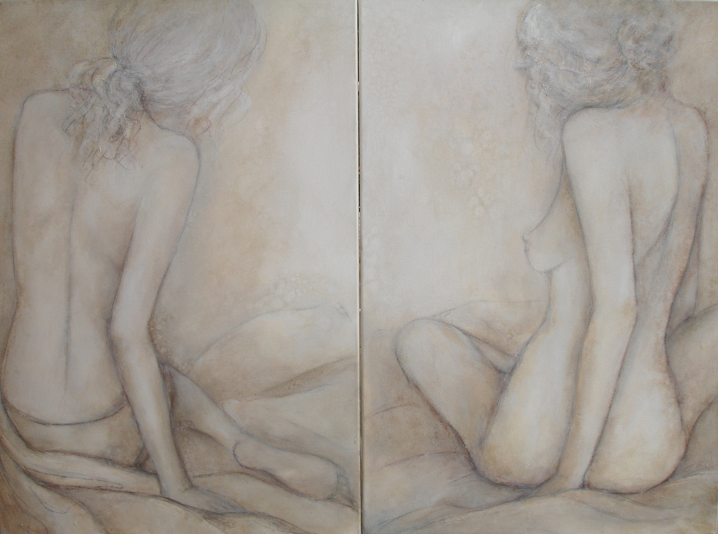 Classic Nudes, 52 x 76 each