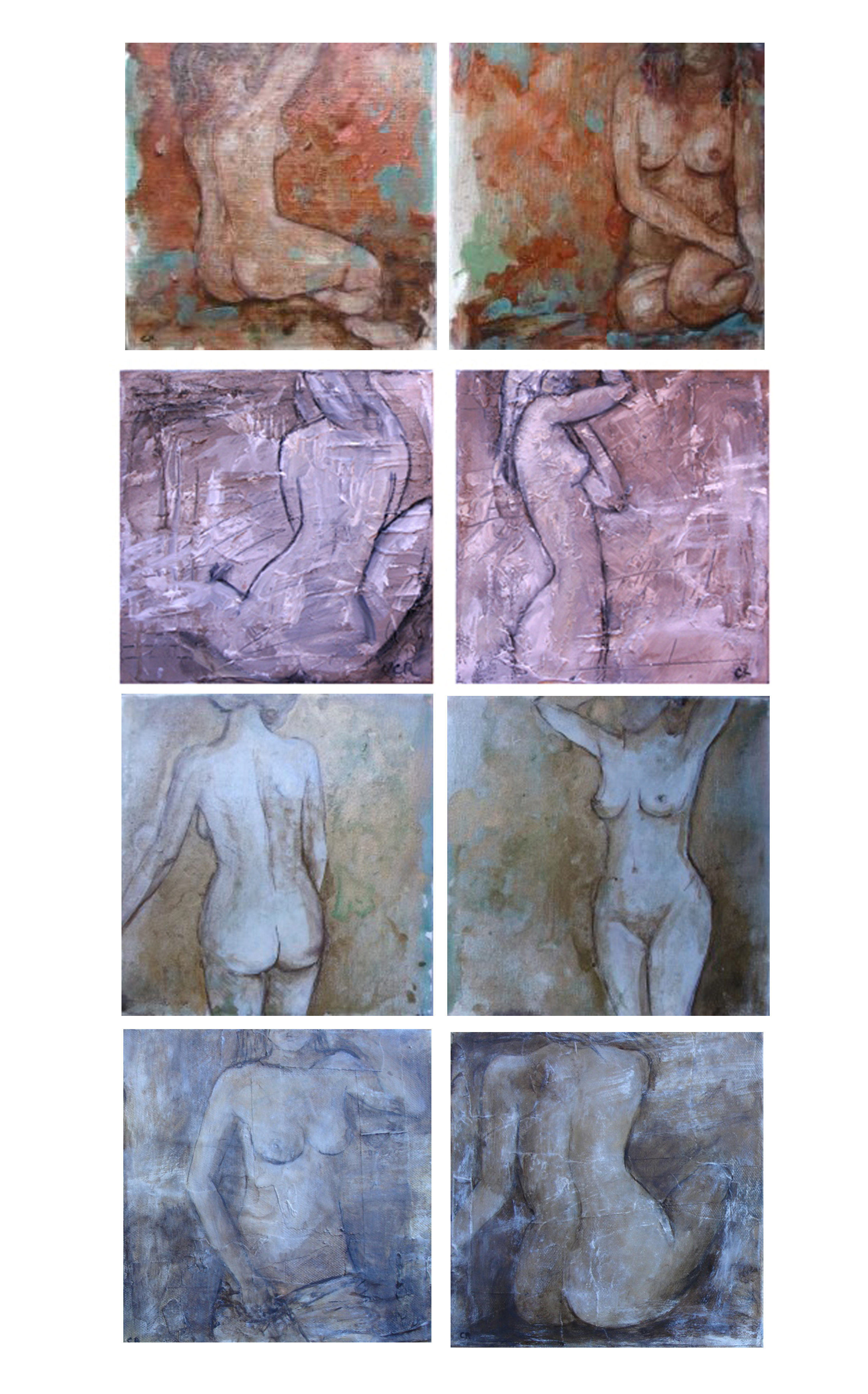 Various Nudes 20- 30cm