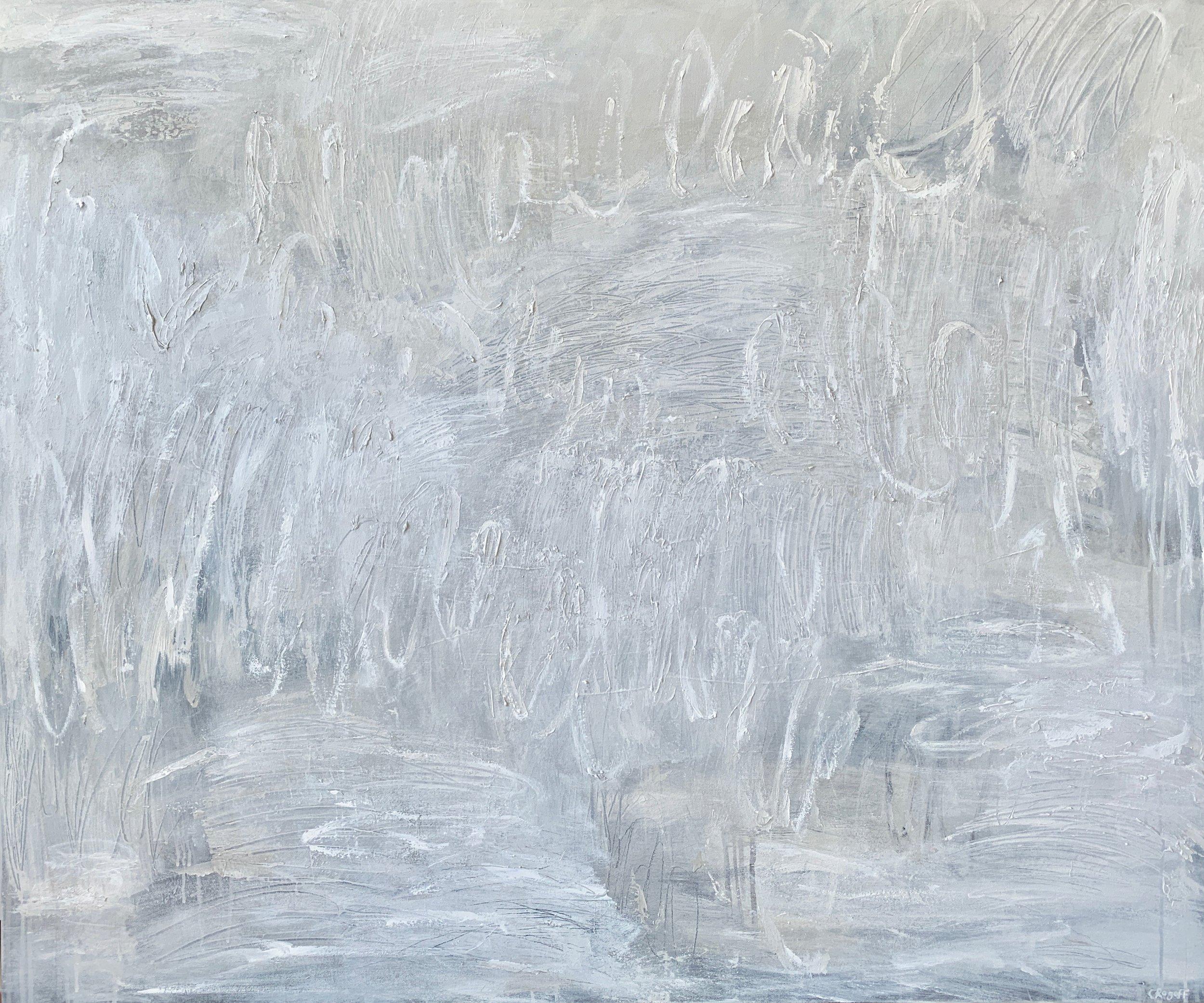 Rewritten, 122 x 102cm