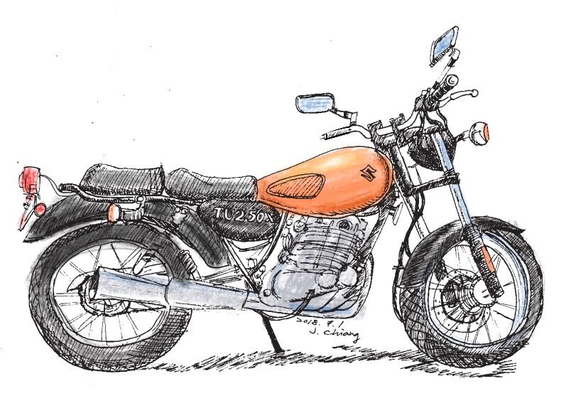 My Suzuki TU250X