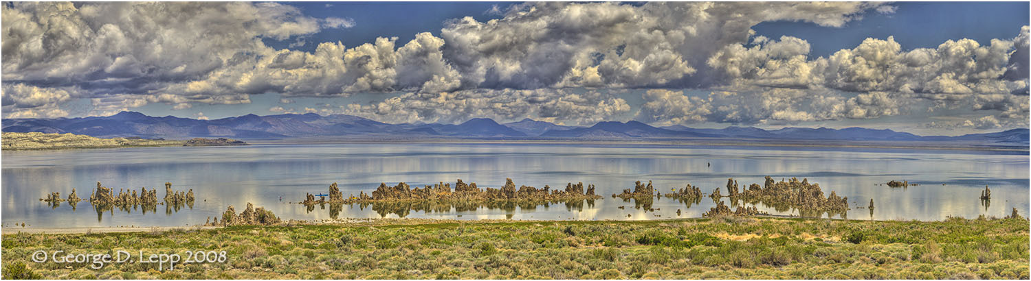 Mono Lake in Spring.    © George D. Lepp 2008 LC-SI-MO-0054