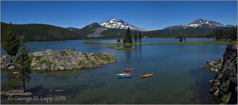 Sparks Lake near Bend, Oregon. © George D. Lepp 2013 LO-CE-CA-0008