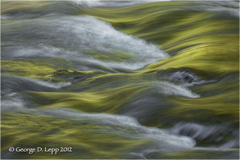 Silver Creek, Silver Falls State Park, Oregon. © George D. Lepp 2012 LO-WF-SN-2001