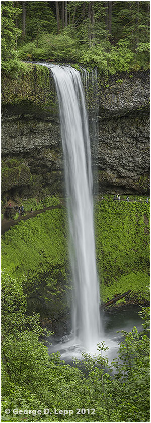 South Silver Falls, Silver Falls State Park, OR. © George D. Lepp 2012 LO-WF-SS-0004