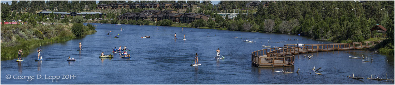 Saturday afternoon on the Deschutes River, Bend, OR. © George D. Lepp 2014 LO-CE-BE-0132