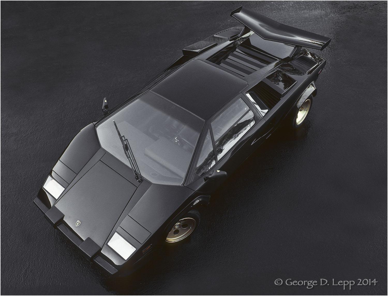 Lamborghini Countach, Car and Driver Mag. © George D. Lepp 2014 T-CA-LA-0004