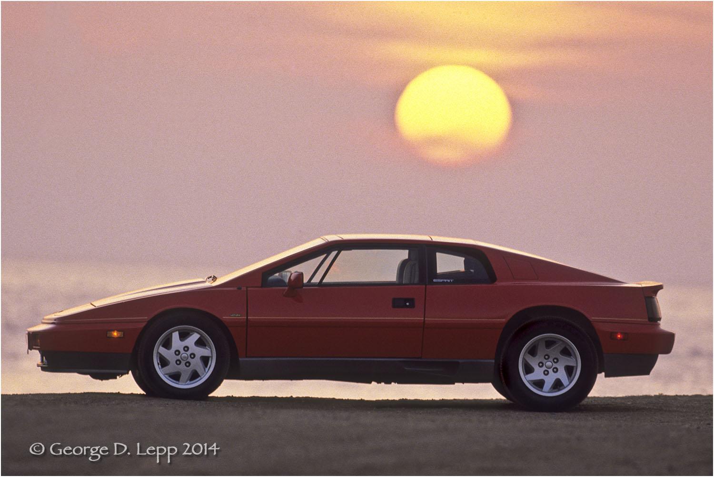 Lotus Esprit, Car and Driver Mag. © George D. Lepp 2014 T-CA-SP-2001