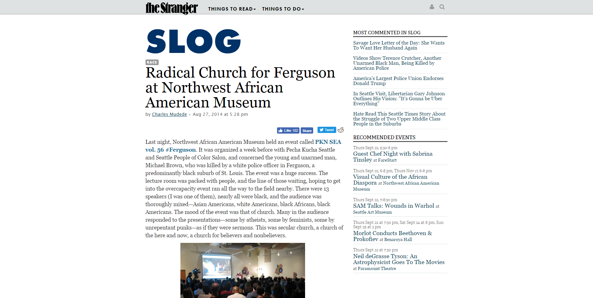 Radical Church for Ferguson at Northwest African American Museum   Slog   The Stranger.png