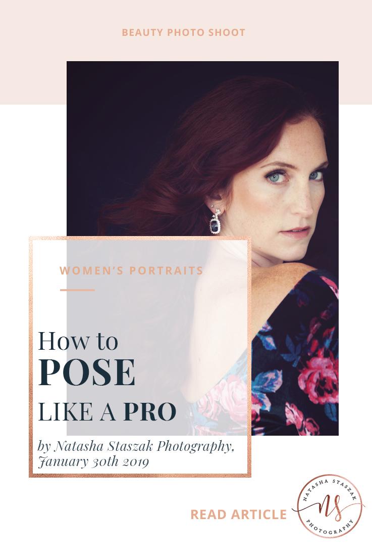 How to pose like a pro for a portrait shoot. Cortney Chyme Buffalo NY Portrait Shoot.
