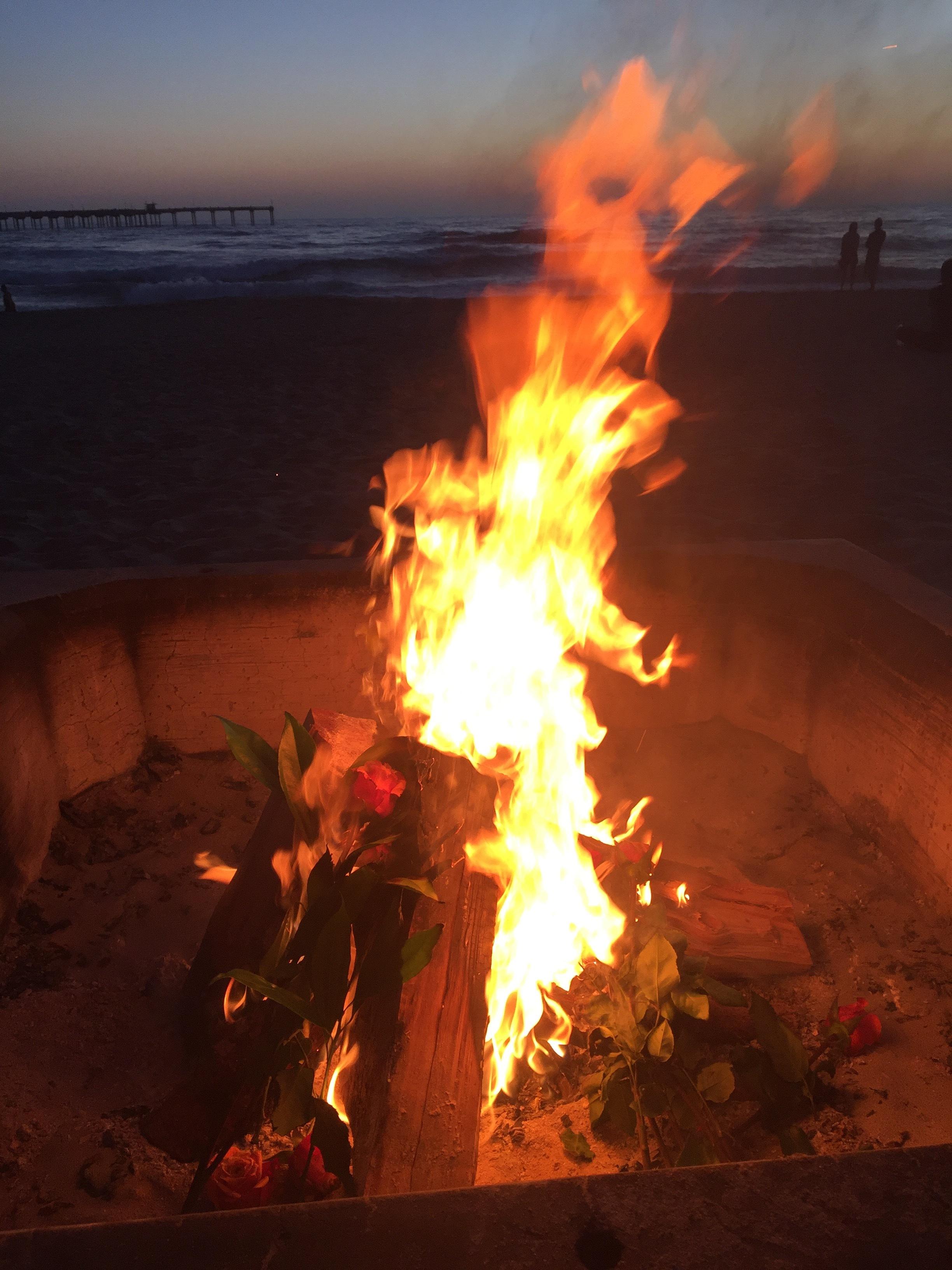 bonfire ritual :: photo by Michael Cardenas