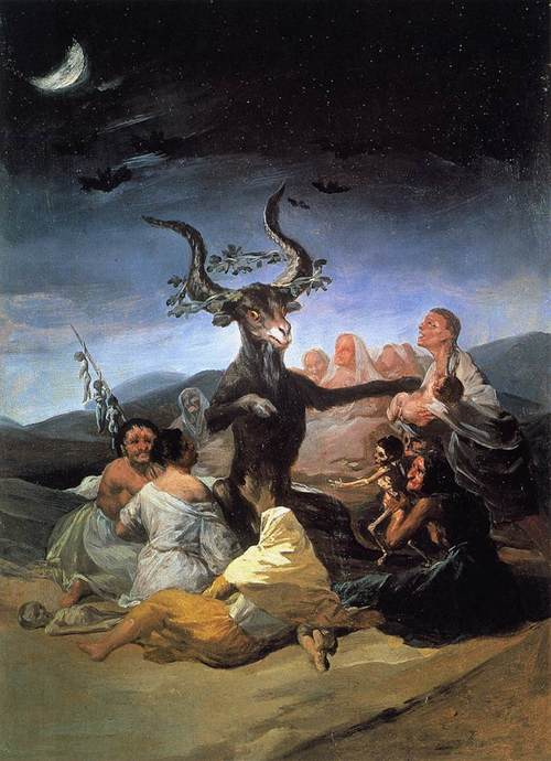 Witches' Sabbath (Goya, 1798)