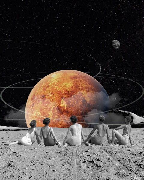 """""""Venus Beach"""" by  Trash Riot"""
