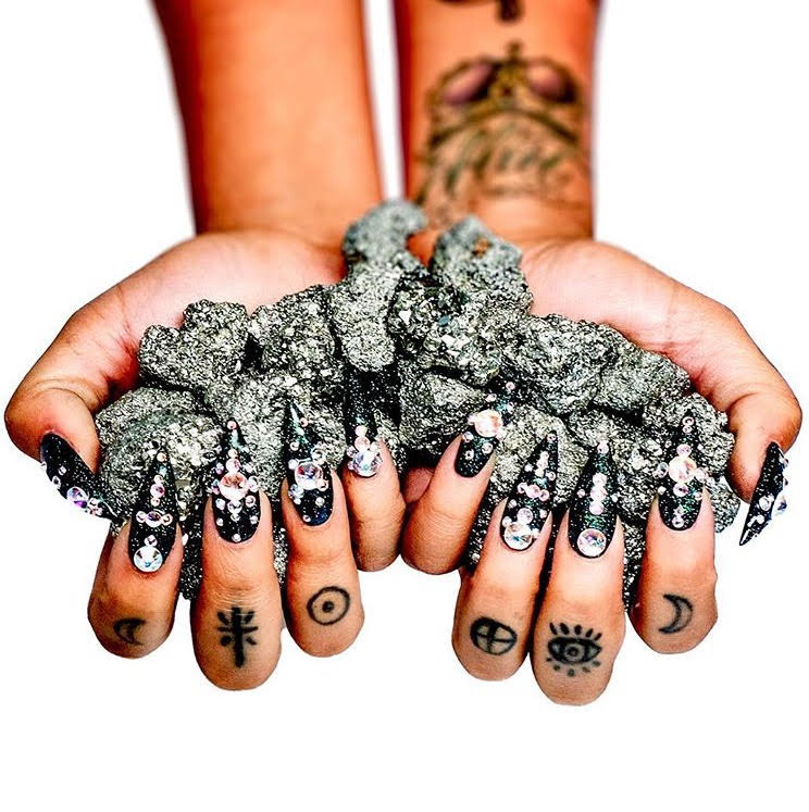 Pyrite is available   HERE