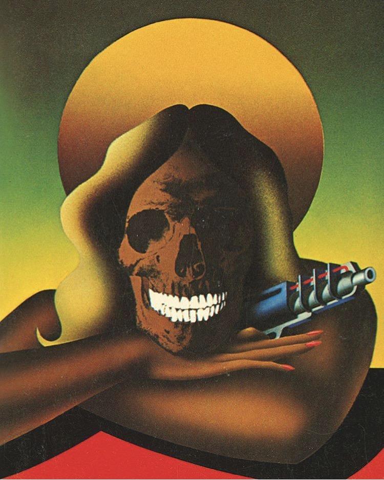 Sci-Fi Cover artwork by David Pelham