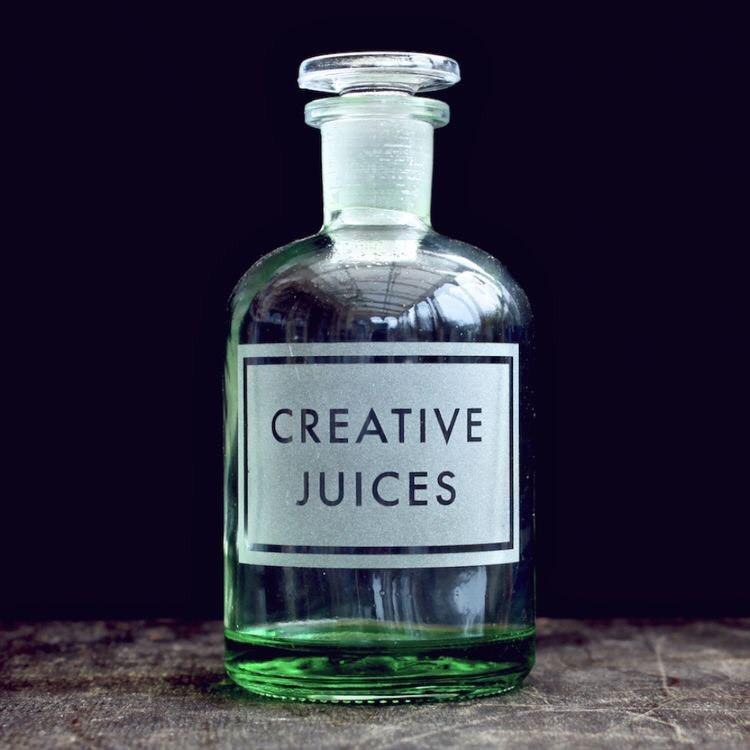 Creative Juices  by Vinegar & Brownpaper UK