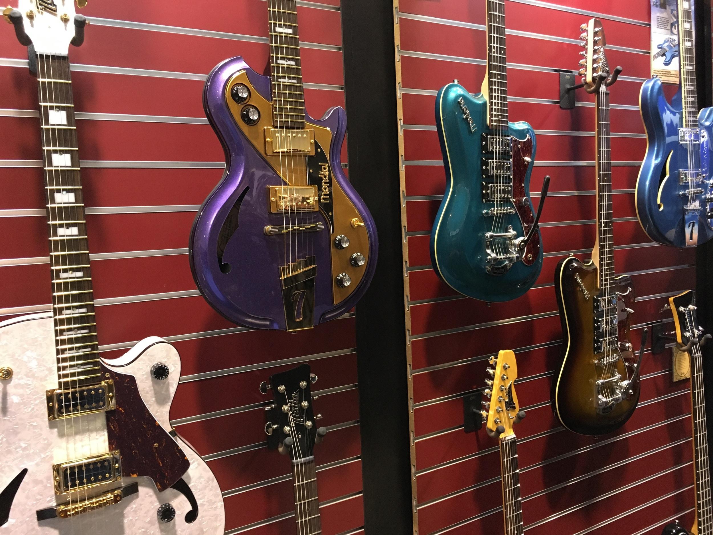 Italia guitars.
