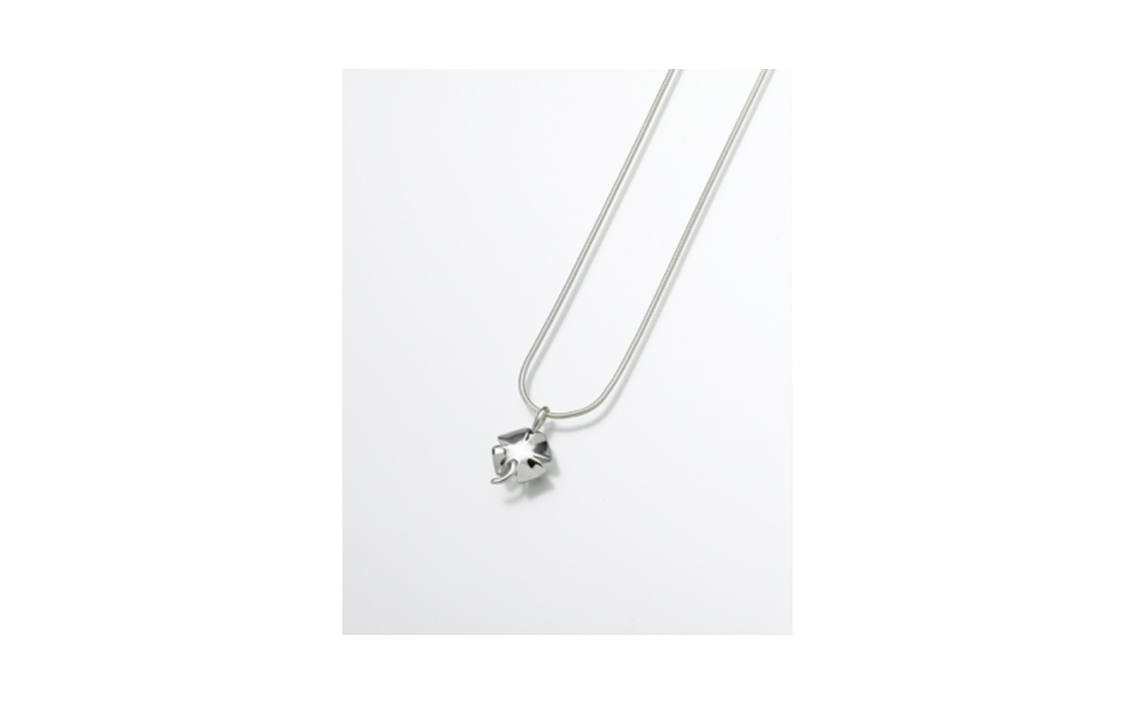 "Sterling Silver 4 Leaf Clover Pendant    Measures 5/8""W x 3/4""H, Chain not included,  $160"