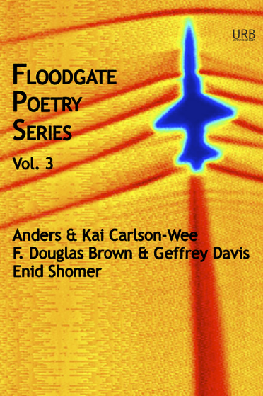This collection also contains a chapbook by  Enid Shomer  and a chapbook co-written by brothers Anders and  Kai Carlson-Wee .